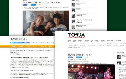 MunizO featured on Japanese media